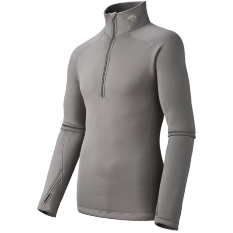 Mountain Hardwear Power Stretch® Base Layer Top - Reversible, Midweight, Long Sleeve (For Men)