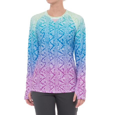 Bette & Court Cobra Golf Shirt - UPF 50, Crew Neck, Long Sleeve (For Women)
