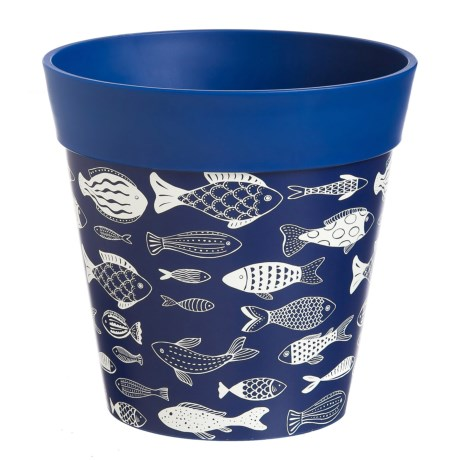 hum Fish on the Go Flower Pot