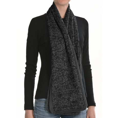 ExOfficio Persian Print Fleece Scarf - Reversible (For Women)