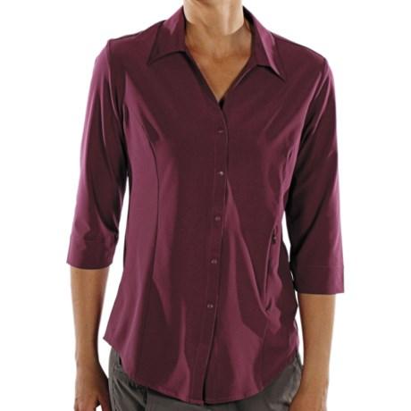 ExOfficio Kizmet Traveler Shirt - UPF 50+, 3/4 Sleeve (For Women)
