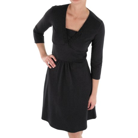 ExOfficio Go-To Dress - UPF 30+, 3/4 Sleeve (For Women)