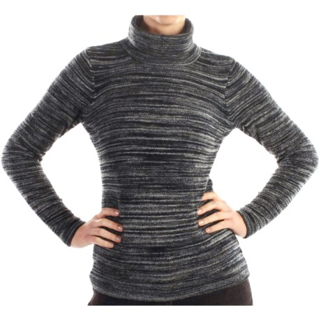 ExOfficio Irresistible Neska Stripe Turtleneck - Long Sleeve (For Women)