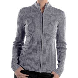 ExOfficio Venture Wool Cardigan Sweater - Full Zip (For Women)