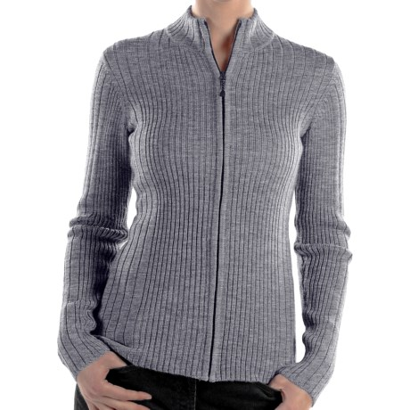ExOfficio Venture Wool Cardigan Sweater - Full Zip (For Women)
