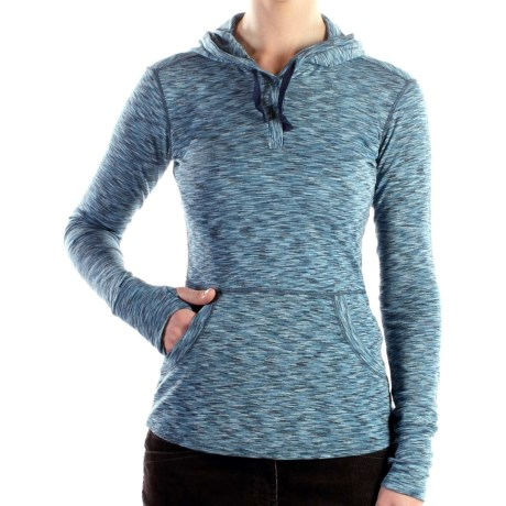 ExOfficio Chica Cool Hoodie Sweatshirt - Moisture Control, UPF 30+ (For Women)