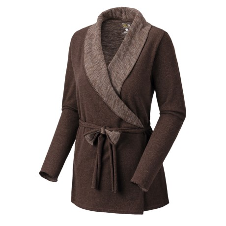 Mountain Hardwear Sarafin Wrap Sweater - Wool, Recycled Materials (For Women)