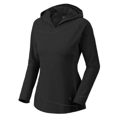 Mountain Hardwear Butter Hooded Topper Shirt - UPF 50, Long Sleeve (For Women)