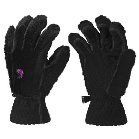 Mountain Hardwear Monkey Fleece Gloves (For Girls)