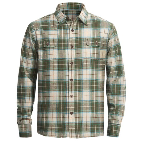 Honolua Maoli Twill Flannel Shirt - Long Sleeve (For Men)
