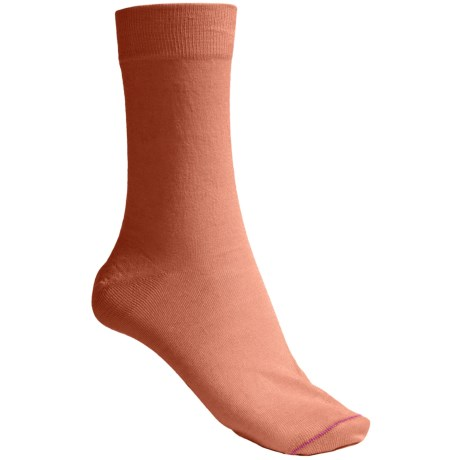 Pantherella Plain Socks - Cotton Blend, Mid-Calf (For Women)