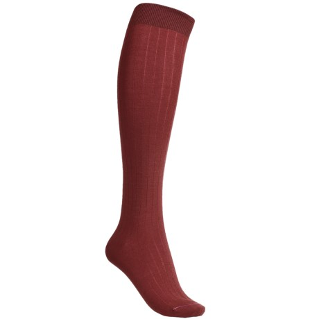 Pantherella Plain Socks - Merino Wool, Knee-High (For Women)