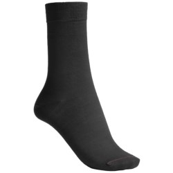 Pantherella Plain Mid-Calf Socks - Merino Wool Blend (For Women)