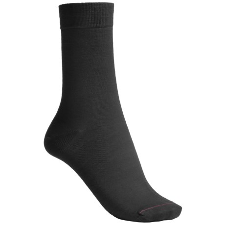 Pantherella Plain Mid-Calf Socks - Merino Wool Blend (For Women)
