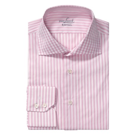Van Laack Rivara Multi-Stripe Dress Shirt - Tailor Fit, Long Sleeve (For Men)