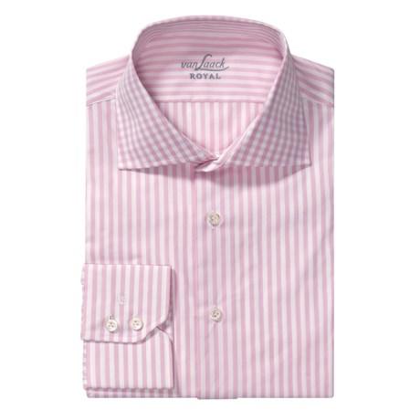 Van Laack Rivara Multi-Stripe Dress Shirt - Tailor Fit, Long Sleeve (For Men)
