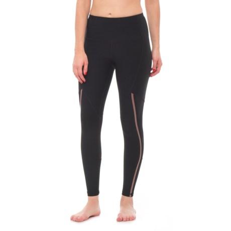 RBX Heat Seal & Mesh Leggings (For Women)