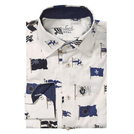 Van Laack Rhoda Tailored Fit Sport Shirt - Long Sleeve (For Men)