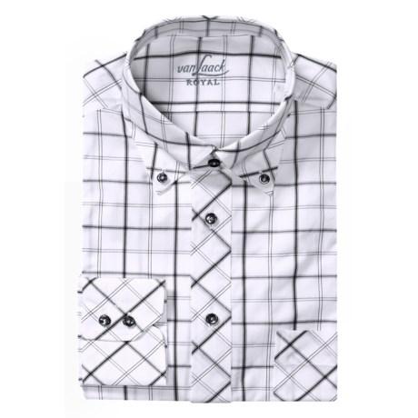 Van Laack Rezzo Tailored Fit  Sport Shirt - Long Sleeve (For Men)