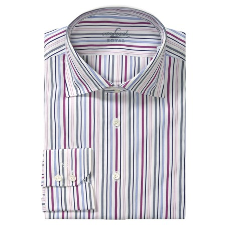 Van Laack Reda Stripe Sport Shirt - Tailor Fit, Long Sleeve (For Men)