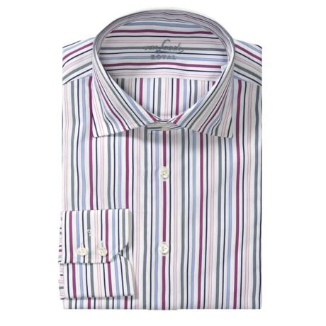 Van Laack Reda Stripe Sport Shirt - Tailor Fit, Long Sleeve (For Men)