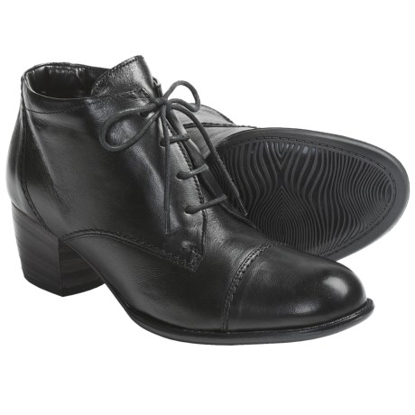 Ara Fanny Leather Ankle Boots - Lace-Ups (For Women)