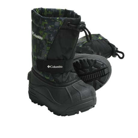 Columbia Sportswear PowderBug Print Winter Boots (For Toddlers)