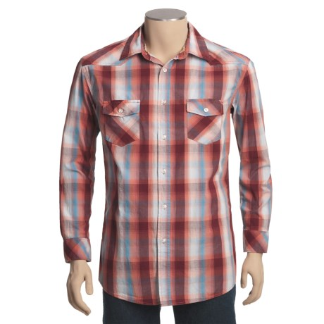 US Expedition Plaid Shirt - Long Sleeve (For Men)