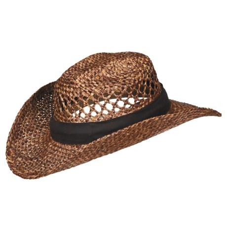 Outdoor Cap Morocco Straw Cowboy Hat (For Men and Women)