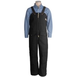 Work King Deluxe Bib Overalls - 10 oz. Cotton Duck, Lined (For Men)