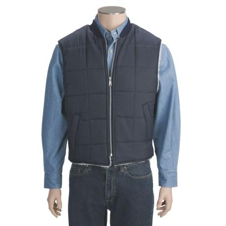 Work King Nylon Vest - Sherpa Lined (For Men)