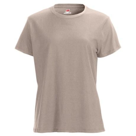 Hanes Nano T-Shirt - Short Sleeve (For Women)