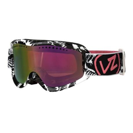 Von Zipper Sizzle Snowsport Goggles - Chrome Lens