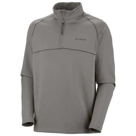 Columbia Sportswear Peak Bound Shirt - UPF 50, Zip Neck, Long Sleeve (For Men)