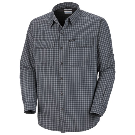 Columbia Sportswear Silver Ridge Plaid Shirt - UPF 30, Long Sleeve (For Big and Tall Men)