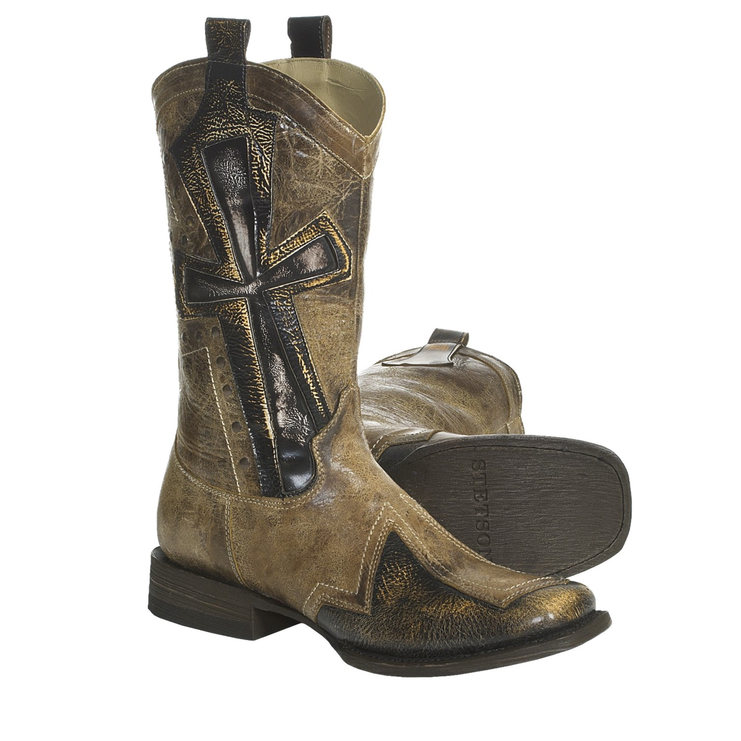 Womens cowboy boots with crosses