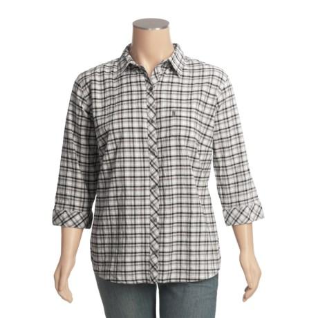 Columbia Sportswear Creative Chaos Crinkle Shirt - 3/4 Sleeve (For Plus Size Women)
