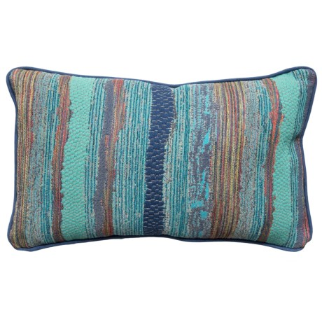 Newport Chindi Boho Textured Throw Pillow -14x22""