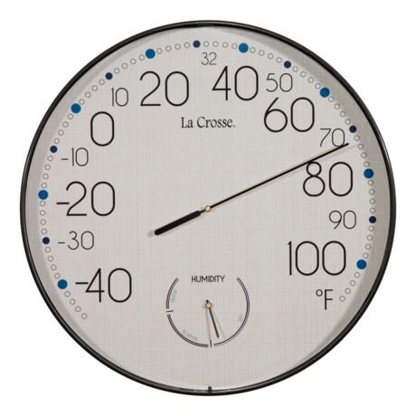"La Crosse Technology Indoor/Outdoor Thermometer - 10"""