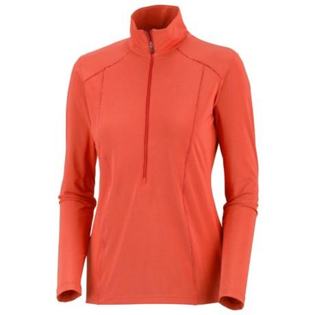 Columbia Sportswear Seize the Freeze Shirt - UPF 30, Zip Neck, Long Sleeve (For Women)