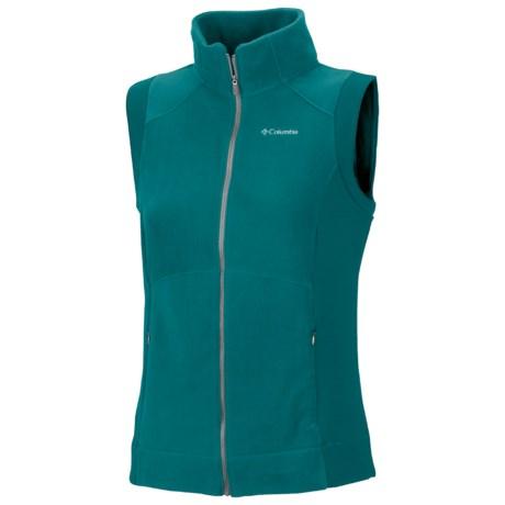 Columbia Sportswear Just Right Vest - Fleece (For Women)