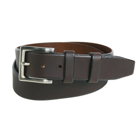 American Endurance Leather Belt - Nickel Buckle (For Men)