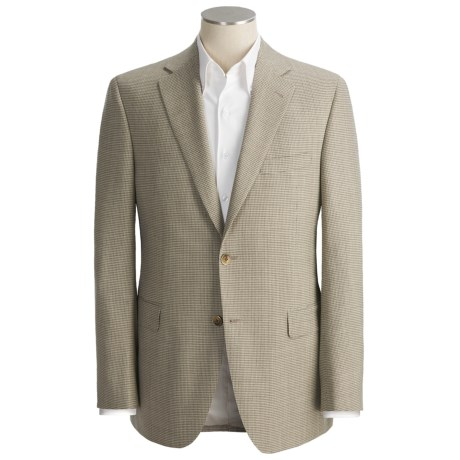 Jack Victor Broken Check Sport Coat - Wool (For Men)