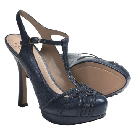 Joan & David Joan and David Dareith T-Strap Shoes - Leather (For Women)