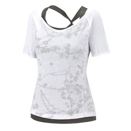 Mountain Hardwear Navassa Shirt - Short Sleeve (For Women)