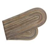 Colonial Mills Augusta Oval Floor Runner - Wool, 2x8'