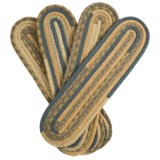 """Colonial Mills Thimbleberries Garden Grove Oval Stair Treads - Set of 4, 8x28"""""""