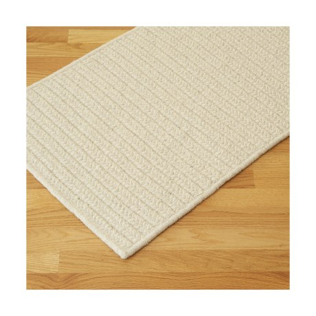 Colonial Mills True Natural Rectangular Rug - 9x12', Wool