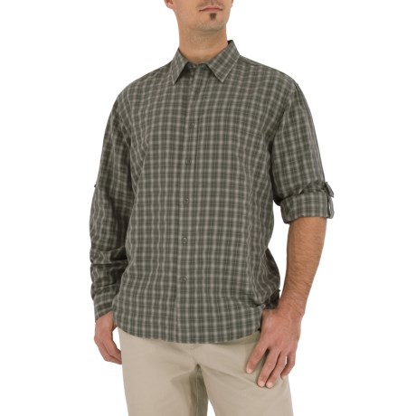 Royal Robbins Piru Plaid Shirt - UPF 30+, Long Sleeve (For Men)