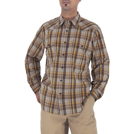 Royal Robbins Clint Plaid Shirt - Long Sleeve (For Men)